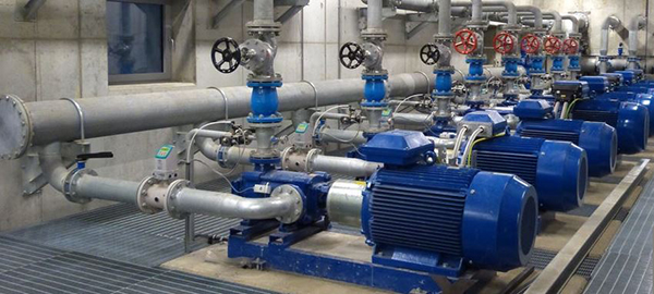насосная станция водоснабжения