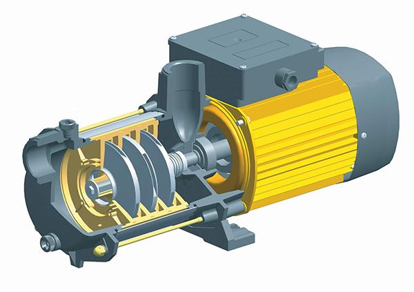 Схема и устройство консольного центробежного насоса