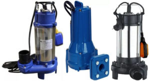 Фекальные насосы для откачки сточных вод: характеристики и виды