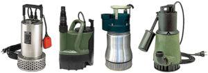 Выбираем дренажный насос для грязной воды