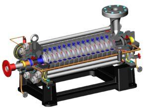 Многоступенчатый центробежный насос — как он устроен и принцип действия