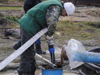 Подготовка к извлечению насоса из скважины